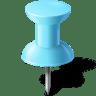 Map-Marker-Push-Pin-1-Azure icon