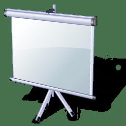 slide show icon vista multimedia iconset icons land