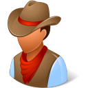 Historical Cowboy icon