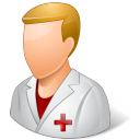 Medical Nurse Male Light icon