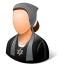 Religions Jew Female icon