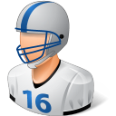 Sport Football Player Male Light icon