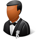 Wedding Groom Dark icon