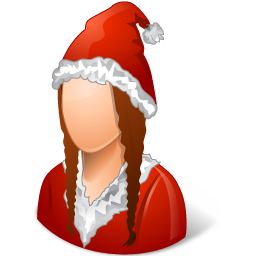 Historical Santa Claus Female icon