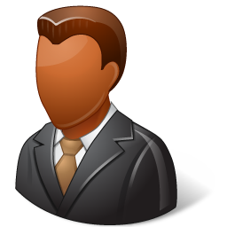 Office Client Male Dark icon
