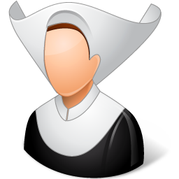Religions Catholic Nun icon
