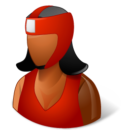 Sport Boxer Female Dark icon