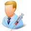 Medical Immunologist Male Light icon