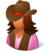Historical-Cowgirl icon
