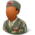 Medical-Army-Nurse-Male-Dark icon
