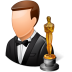 Occupations-Actor-Male-Light icon