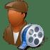 Occupations-Film-Maker-Male-Dark icon