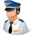 Occupations-Pilot-Male-Light icon
