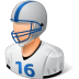 Sport-Football-Player-Male-Light icon