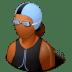 Sport-Swimmer-Female-Dark icon