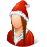 Historical-Santa-Claus-Female icon