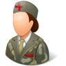 Medical-Army-Nurse-Female-Light icon