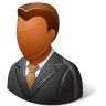Office-Client-Male-Dark icon