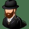 Religions-Jew-Male icon