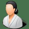 Sport-Wrestler-Female-Light icon
