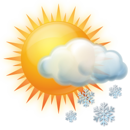 Snow Occasional Icon | Weather Iconset | Icons-Land