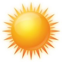 Sunny Icon | Weather Iconset | Icons-Land