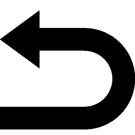 arrows undo icon android iconset icons8