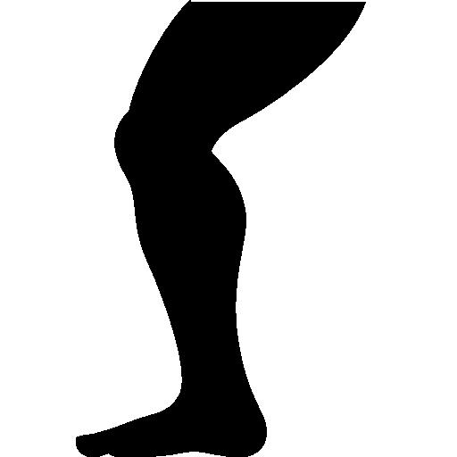 sports leg icon android iconset icons8