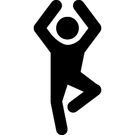 Sports Yoga Icon | Android Iconset | Icons8
