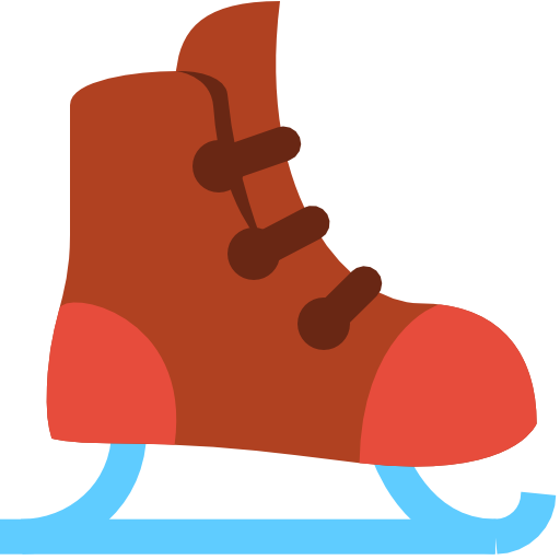 ice skate icon christmas flat color iconset icons8