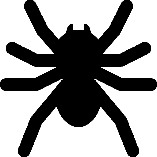 512x512 pixel - Halloween Spider