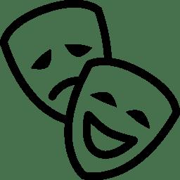 Cinema Theatre Mask icon