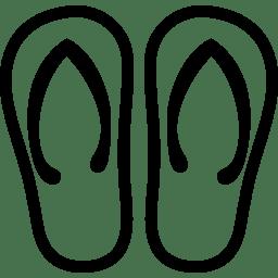 Clothing Flip Flops icon