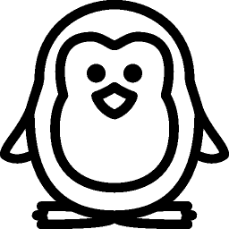 Holidays Christmas Penguin icon