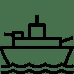 Military Battleship icon