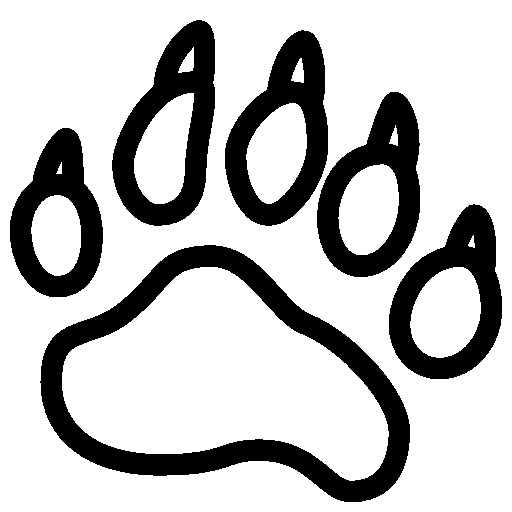 Animals-Bear-Footprint icon