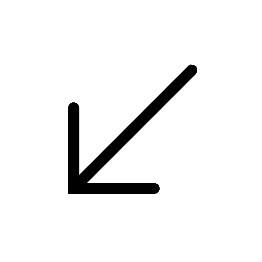 Arrows-Down-Left icon