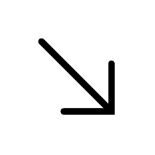 Arrows-Down-Right icon