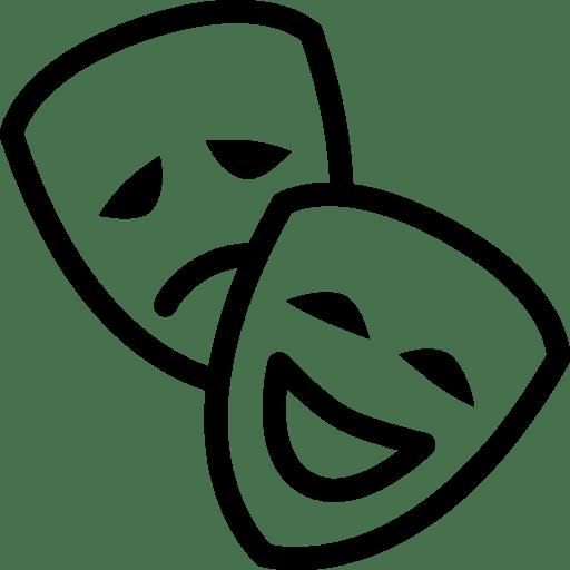 Cinema-Theatre-Mask icon