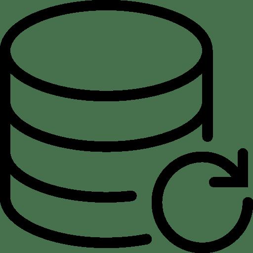 Data Database Backup icon
