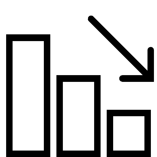 Data Negative Dynamic icon