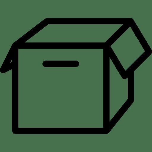Ecommerce-Empty-Box icon
