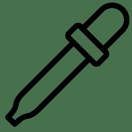 Editing Color Dropper icon