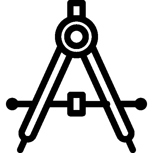 Editing Drafting Compass icon