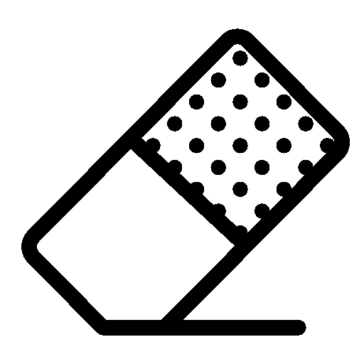 Editing-Eraser icon