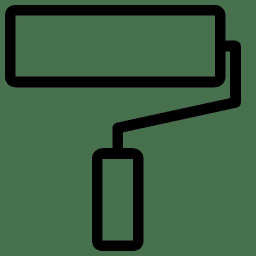 Editing-Roller-Brush icon