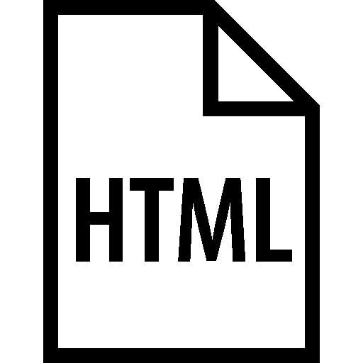 Files Html Filetype icon