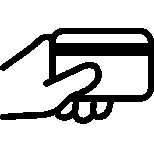 Finance-Card-In-Use icon
