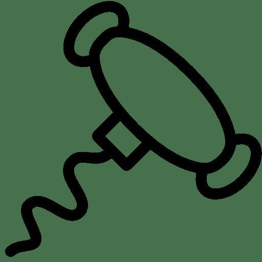 Food-Corkscrew icon