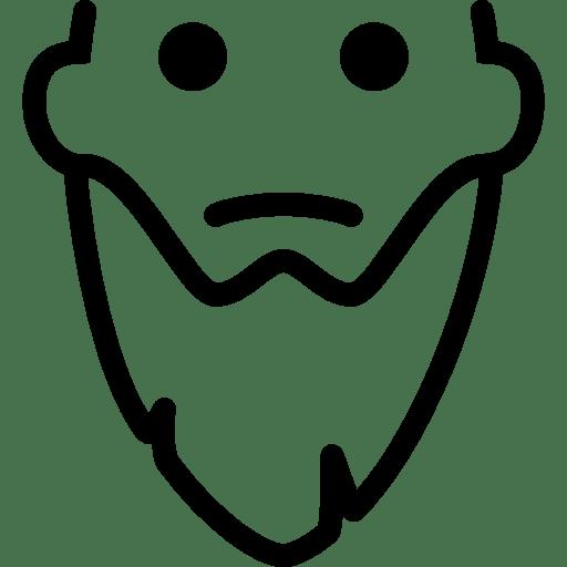 Hair-Long-Beard icon